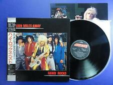 HANOI ROCKS  MILLION MILES AWAY Mercury Japanese LP MINT
