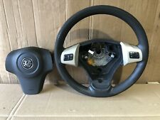VAUXHALL CORSA D  STEERING WHEEL 2006-2014 MULTI FUNCTION with AIRBAG