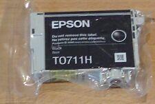GENUINE EPSON T0711H TO711H High Capacity black cartridge ORIGINAL GIRAFFE ink