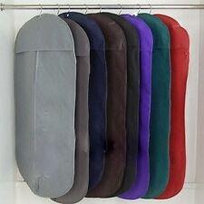 Suit Bag Black Breathable -  Fabric not Plastic - Zip Closure - AU Seller