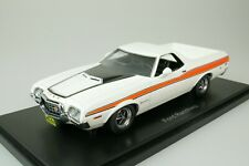 FORD RANCHERO GT PICK-UP 1972 WEISS - ORANGE 1/43 NEO 44856 NEU
