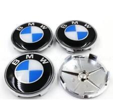 BMW Hub Alloy Wheel Centre Caps.Set of 4. Fit E90 E60 E61 E34 Epoxy BLUE 68mm