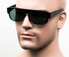 Gangster Easy E Cholo Glossy Black Sunglasses LOC OG Style Real Glass NL40 G