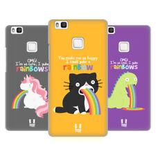 Cover e custodie Multicolore Per Huawei P9 lite con un motivo, stampa per cellulari e palmari
