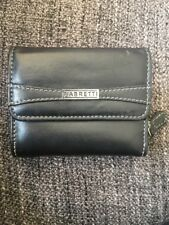 Black Fabretti Purse Used Once Excellent Condition Leather