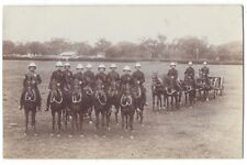 British Soldiers wearing Pith Helmets RP Postcard by Eden of Bangalore, Unused