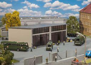 Faller 144032, Military, Große Reparaturhalle, neu, OVP, Bundeswehr