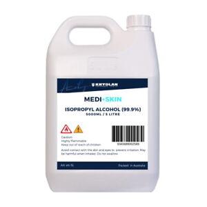 Isopropyl Alcohol Isopropanol IPA 99.9% 5L 5 Litre
