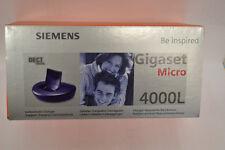 Coque support Gigaset 4000 micro sont NOUVEAU & OVP