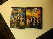 +THE ADDAMS FAMILY/ ADDAMS FAMILY VALUES DVD LOT OF 2