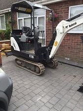 Mini Digger With Driver For Hire