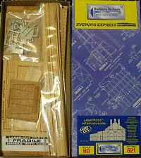 Builders In Scale HO #621 (2-Stall Engine House Kit) (Building Kit) Craftsman
