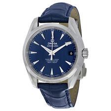 Omega Aqua Terra 150m Master Co-Axial Blue Dial Mens Watch 231.13.39.21.03.001