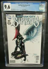 Gotham City Sirens #22 (2011) Beautiful Guillem March Cover CGC 9.6 Z094