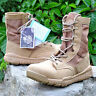 Men's Outdoor Tactical  Leather Boots Military Combat Army Desert patrol Shoes