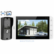 7'' HOMSECUR Video Intercom with Metal HD IR Camera, Recording & Snapshotting