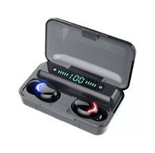 Auriculares TWS, F9-V5.0 por Bluetooth 5,0, Control Tactil
