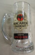 Brand new Set of 24 Bacardi Oakheart Spiced Rum Glass Mugs