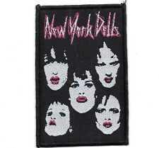 New York Dolls Faces Patch
