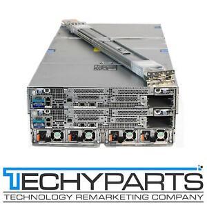 """Dell DSS7000 2x DSS7500 Node 90-Bay LFF 3.5"""" iDRAC 8 Ent 4U Rackmount Server CTO"""