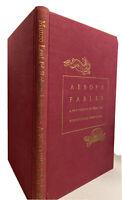 1st Edition AESOP'S FABLES Munro Leaf Robert Lawson 1941 Junior Heritage Club