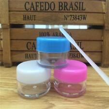 Cosmetic Empty Jar Pot Eyeshadow Jar Face Cream Lip Balm Container Colorful RN H