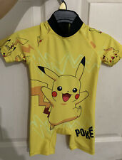 Next Pikachu Pokemon Sun Suit Age 1.5 -2yrs UPF 50+