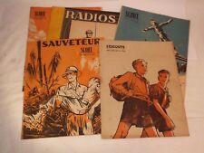 Lot 7 revues Scouts années 40: l'Escoute et Scout