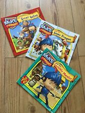 Set of 3 Mike The Knight paperback books - Simon & Schuster 2013, pre- owned.