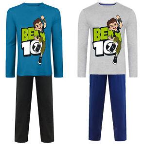 BEN 10 PYJAMAS PJS LOUNGEWEAR Boys - Cotton Ages 3 - 8 Years