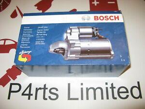 GENUINE BOSCH STARTER MOTOR 0986021500 FITS BMW SERIES 1 3 5 7 X1 X3 X5 X6