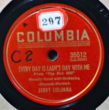 Jerry Colonna Every Day is Lady's With Me 78 Plays Well Who's Yehoodi Novelty