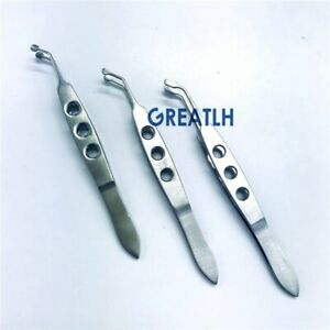 Ophthalmic Forceps Eyelid Massaging tweezer ophthalmic eye instrument
