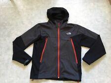The North Face Men's Cipher Hybrid Jacket Gray Black Red Men Medium Windstopper