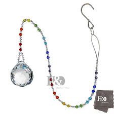 Window Rainbow Handmade Suncatcher Crystal Prisms Ball Pendulum Wedding Decor
