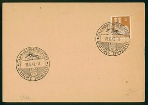 MayfairStamps Cover Germany 1949 Hamburg Spring derby wwp70117