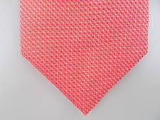 "ALFANI $50 MEN Red Geometric Skinny WIDTH 3"" CASUAL DRESS NECK TIE SALE S18"