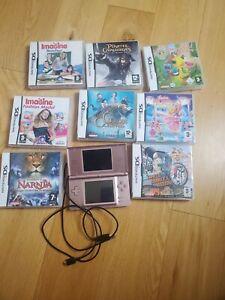 Nintendo DS Lite Console With Games Bundle