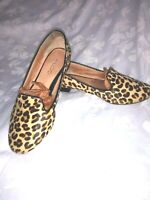 ALDO Flats Leopard Slip On Pointed Toe Women Size 7