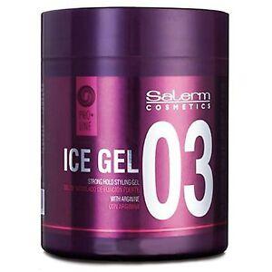 Salerm Proline Ice Gel 500 ml. 17.81 Oz. (Group of 3)