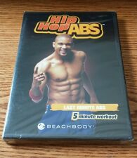 Hip Hop Abs: Last Minute Abs (DVD) beachbody Shaun T workout exercise NEW