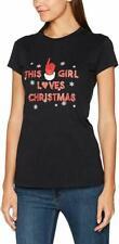 Die Weihnachten Workshop Damen das Mädchen Loves Weihnachten T-Shirt Large