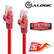 ALOGIC C6-0.5-Red 1.6 ft Cat6 Network Cable