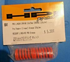Hpi Part #6841 Pro Linear Spring 13x27mm (Orange 216g/mm) for the Rs4