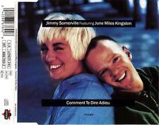 Jimmy Somerville Feat. June Miles Kingston Maxi CD Comment Te Dire Adieu - UK