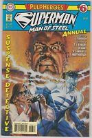 SUPERMAN MAN OF STEEL ANNUAL #6 PULP HEROES DC 1997 FN -