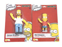 The Simpsons Bend-Ems Homer & Bart Bendable Poseable NEW SEE DETAILS