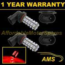 2X H10 RED 60 LED FRONT FOG SPOT LAMP LIGHT BULBS HIGH POWER KIT XENON FF500601