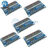 5Pcs 8-Bit LED Digital Tube 8 KeyS TM1638 Display module for AVR Arduino ARM