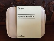 Cathay Pacific First Class AESOP Airline Amenity Kit, Female